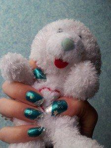 azur enneigé  dans nail art 2012-12-04-13.37.08-225x300